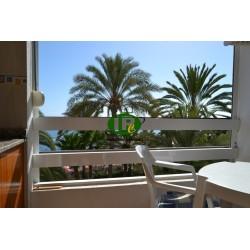 Двухкомнатная квартира, хорошо продуманная в 1-м ряду моря с видом на песчаный пляж и море - 7