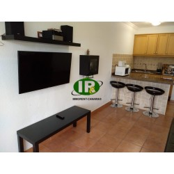 Long term rental apartment with 1 bedroom and nice balcony in the heart of Playa del Ingles