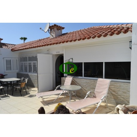 Large spacious bungalow in a great location in the dunes of Maspalomas