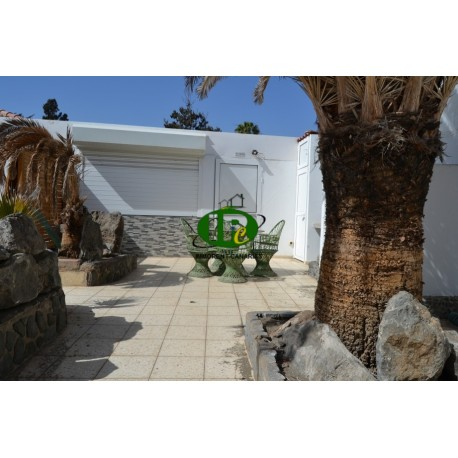 Bungalow accesibles para personas discapacitadas en una zona tranquila cerca de las dunas de Maspalomas