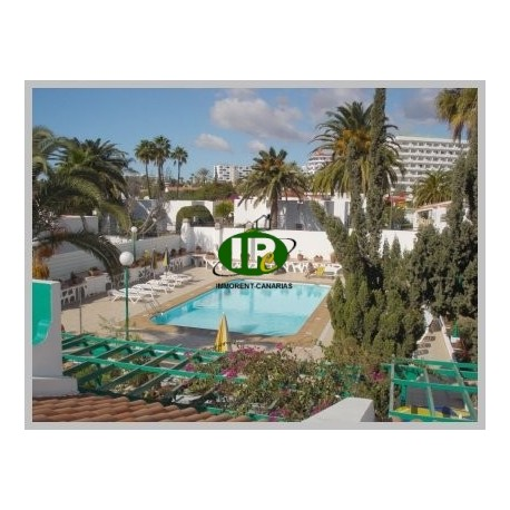 Vakantiebungalows met 1 en 2 slaapkamers te huur in Playa del Inglés