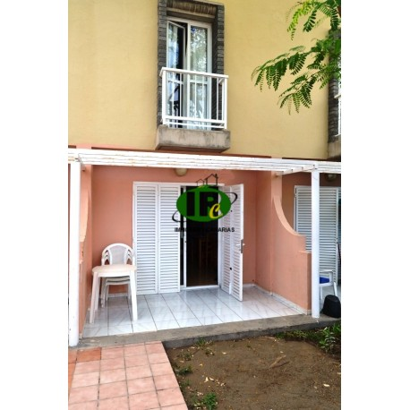 1 bedroom bungalow on 2 levels with an open terrace