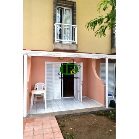 Bungalow mit 1 Schlafzimmer auf 2 Ebenen, mit offener Terrasse