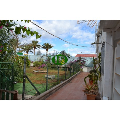 Bungalow with 2 bedrooms with 2 terraces long term rental