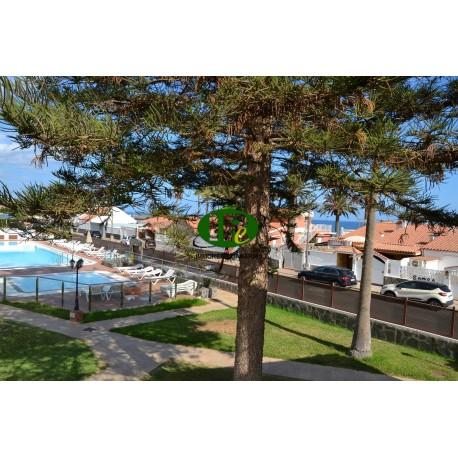 Vakantieappartement op de 2e rij naar het strand Rustig complex. aan het strand van Playa del Inglés