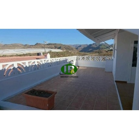 1 комнатная квартира с большой открытой террасой - 2