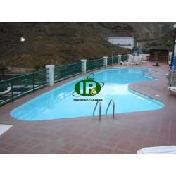 Квартира с 1 спальней, кухней, ванной комнатой и небольшой террасой и общим бассейном - 1