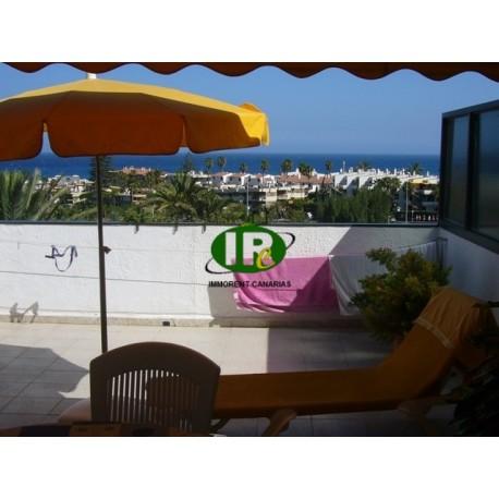 Hermoso bungalow con 1 dormitorio, vista al mar y una terraza muy grande - 14