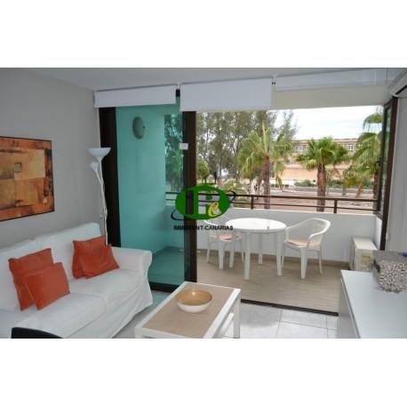 Квартира с 1 спальней в 1-м ряду моря и пляжа на первом этаже - 5