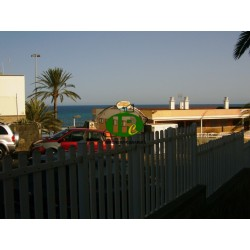 Apartment with 2 bedrooms, usable for 4 persons, in 2nd row to the sea and sandy beach