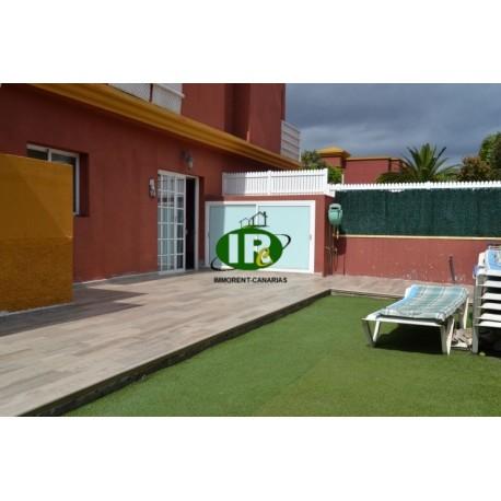 Bungalow in San Agustin met 2 slaapkamers, een zeer groot terras in San Agustín - 1