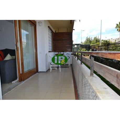 Appartement met 2 slaapkamers in de 2e rij zee en strand. Volledig gerenoveerd in San Agustin - 2
