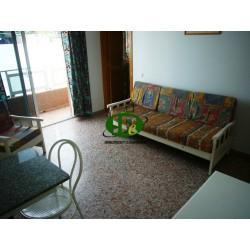 Небольшая квартира с 1 спальней и узким балконом
