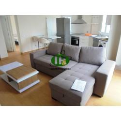 Различные квартиры в тихом комплексе с 1 и 2 спальнями разных размеров на разных этажах