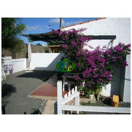 Bungalow con 1 dormitorio, terraza con jardín compartido - 1