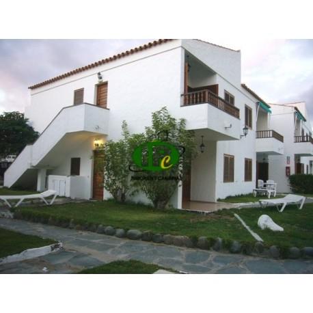 Bungalow met 2 slaapkamers op de 1e rij naar het strand aan het begin van Playa del Ingles