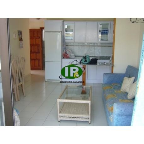 topp ausgestattetes Apartment mit 1 Schlafzimmer in der beliebten Seitenstrasse shoppingcentrum La Sandia in Playa del Ingles -