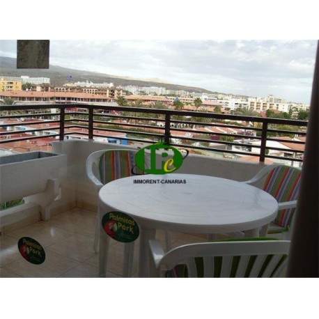 Apartment with 1 bedroom on 45 m2 living space, on the last floor with great views, 4. Floor