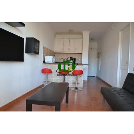 Apartment mit 1 Schlafzimmer und schönen Balkon im Herzen von Playa del Ingle