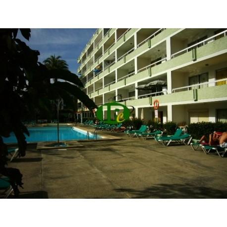 Apartamento de vacaciones con 1 dormitorio en la planta baja, terraza, accesible desde la sala de estar - 7