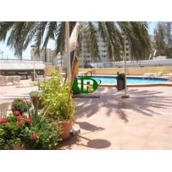1 комнатная квартира на 1 этаже, в центре города, на боковой улице возле Касба