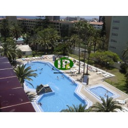 Holiday apartment with 1 bedroom and large balcony