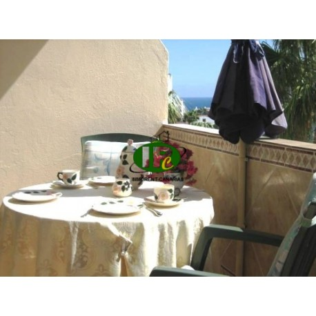 Holiday apartment with 1 bedroom on 70 sqm. Of living space. With balcony
