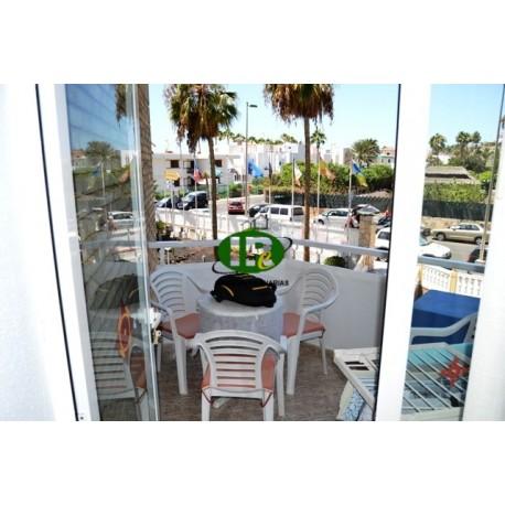 Студия отдыха с балконом во 2-м ряду от моря на 1-м этаже - 5