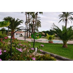 Very large beautifully furnished holiday bungalow in a quiet location