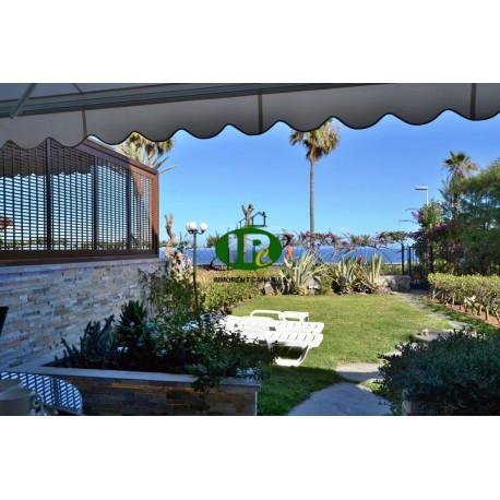 Bungalow de vacaciones con 2 dormitorios en 1ª fila de mar con vistas al mar - 16