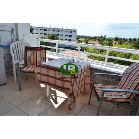 Apartamento de vacaciones con 1 dormitorio en el cuarto piso y con vista al mar de Maspalomas - 1