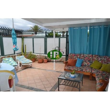 Бунгало с 2 спальнями и 2 большими крытыми террасами, выложенными плиткой - 1