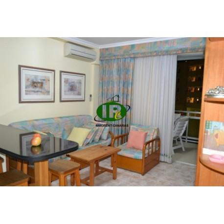 Urlaubs-Apartment in oberster Etage mit 1 Schlafzimmer. Gerade mal wenige Gehminuten zum Stand