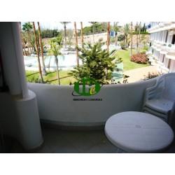Vakantieappartement met 1 slaapkamer op de 2e verdieping in de Avd. De Gran Canaria