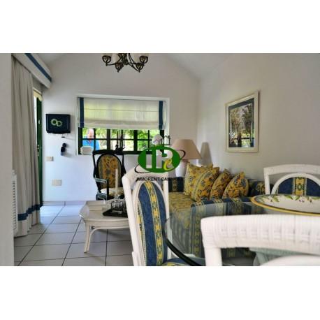 Bungalow con 1 dormitorio y amplia zona de jardín, amueblado, muy bien mantenido - 1