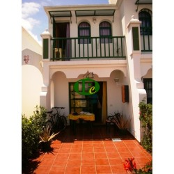 Duplex bungalow with 1 bedroom on 2 levels. Terrace - 7