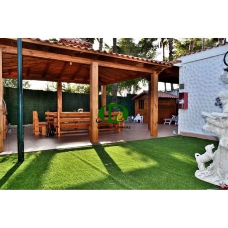 Bungalow mit 1,5 Schlafzimmern und sehr schöner großer Terrasse - 4