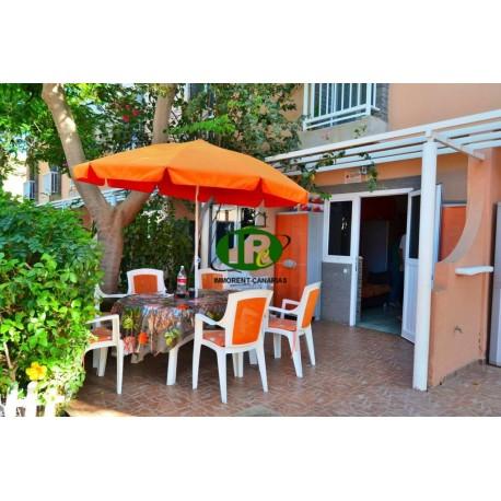 Bungalow de 1 dormitorio en 2 niveles y terraza. En complejo popular - 1