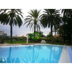 Very nice apartment with 1 bedroom in 2nd row to the sea and beach