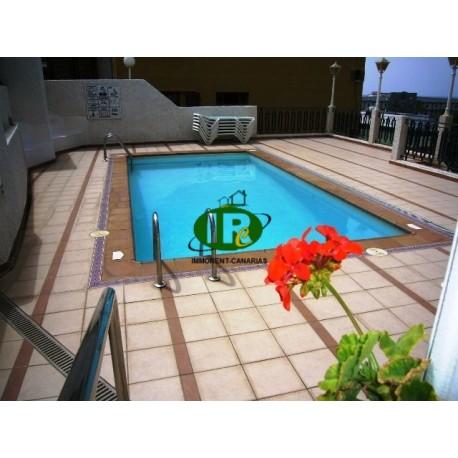 Vakantieappartement met 2 slaapkamers in san agustin - 1