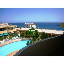 Bonito apartamento en 1ª fila mar, vista al mar, con 2 habitaciones - 11