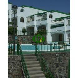 Квартира для отдыха с 1 спальней на 1 этаже с балконом и видом на море