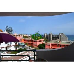 Holiday apartment with 1 bedroom in 3rd line to the sea. Balcony with sea view