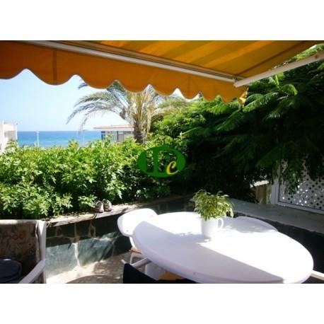 Bungalow con jardín y terraza en alquiler, con vista directa al mar - 7