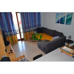 Квартира для отдыха с 1 спальней и балконом