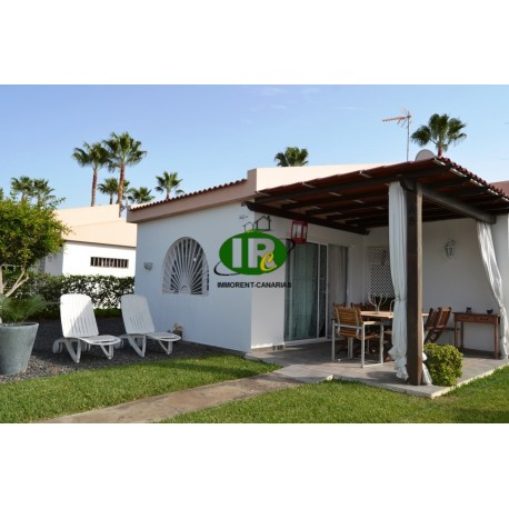 Duplex bungalow with 2 bedrooms. With large garden area and terrace - 1