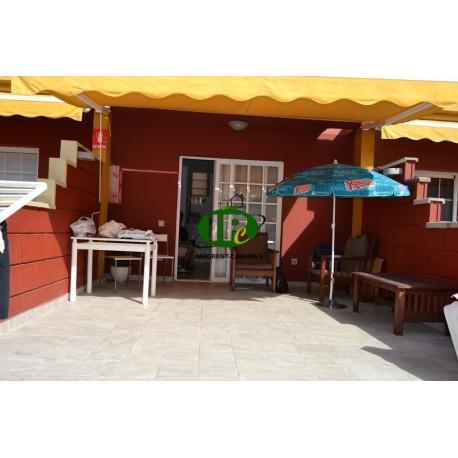 Bungalow con 1 dormitorio en 2 niveles con terraza incl. Wifi - 11