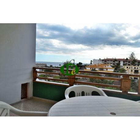 Zeer mooi appartement met 2 slaapkamers en uitzicht op zee
