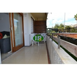 Holiday apartment with 2 bedrooms in 2nd row sea and beach
