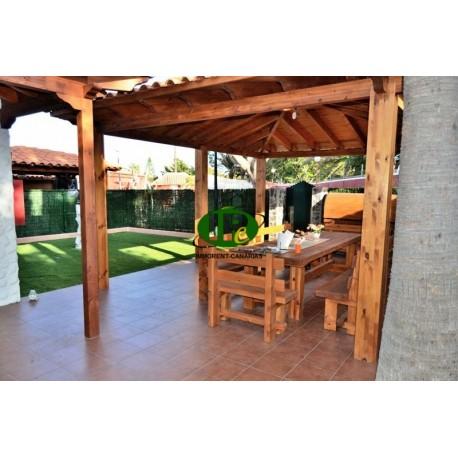Bungalow met 1,5 slaapkamers en een heel mooi groot terras - 1